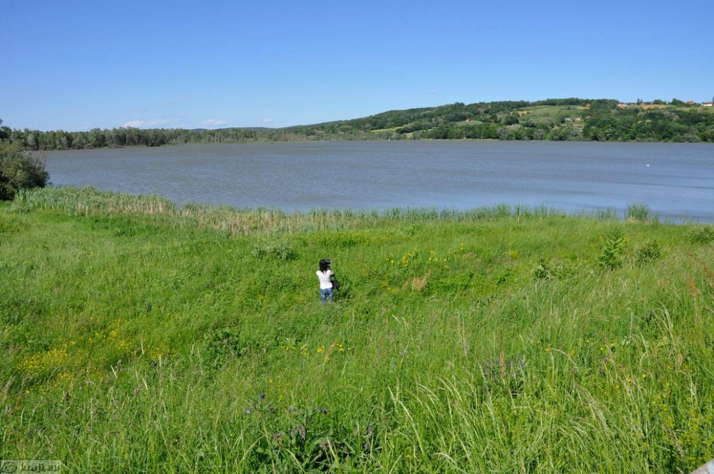 Jezero v Krašči
