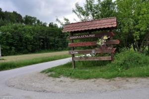 Forest educational trail Tromejnik